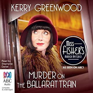 Murder on the Ballarat Train audiobook cover art