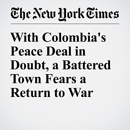 With Colombia's Peace Deal in Doubt, a Battered Town Fears a Return to War cover art