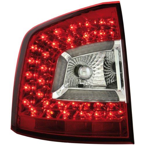 Dectane RSK03RSLRC Litec LED Rückleuchten Skoda Octavia 1Z 08+, rot/crystal