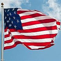 フラッグポール, フランス、米国、ロシア、ドイツ、イギリス、国旗150x90cmカスタム旗国のバナー (Color : C, Size : 120 x 180cm)