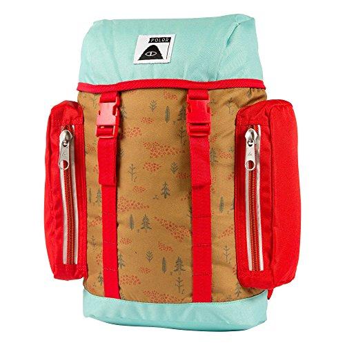 POLER Kamera und kühlrucksack Bag Wildwood, Almond Forestry Print, 50 x 40 x 6 cm, 17 Liter, POLBAG_WIL