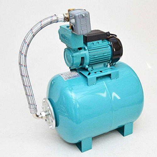 Hauswasserwerk 50 L Pumpe 750W Hauswasserautomat Gartenpumpe 7,8bar