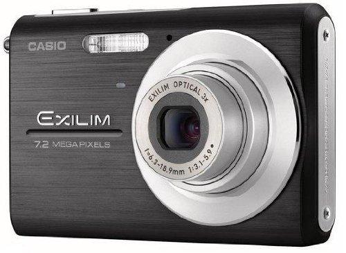 Casio Exilim EX-Z75 - Cámara Digital Compacta 7.2 MP (2.6 Pulgadas LCD, 3X Zoom Óptico), Negro