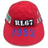 POLO RALPH LAUREN 1992 STADIUM COLLECTION CAP ポロ ラルフローレン スタジアム 92 1992 キャップ 帽子 復刻モデル レッド 赤 size S