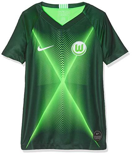 Nike Kinder VFLW Y NK BRT STAD JSY SS HM Football T-Shirt, pro Green/Green Strike/White no Sponsor, L