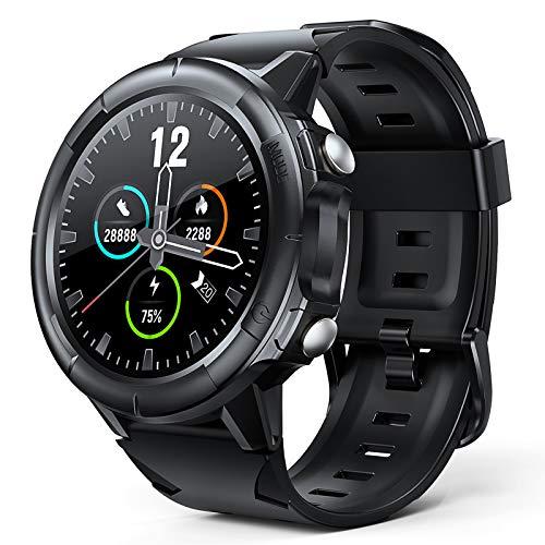 Arbily Smartwatch, Fitness Tracker voll Touchscreen, IP68 Wasserdicht Fitnessband mit Herzfrequenzmesser, Schlafmonitor, Schwimmfest, Schrittzähler, Stoppuhr und Time für Herren Junge