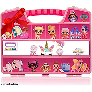 ASH BRAND Durable Figures Carrying CASE Stora | Shopkin.Toys - Image 1