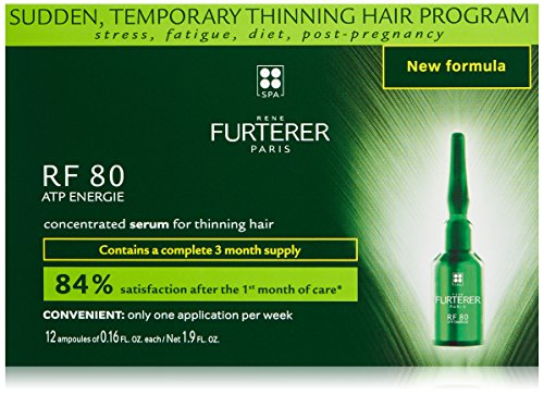 Rene Furterer Rf 80 Concentrated Hair Loss Treatment 12X - 5 ml