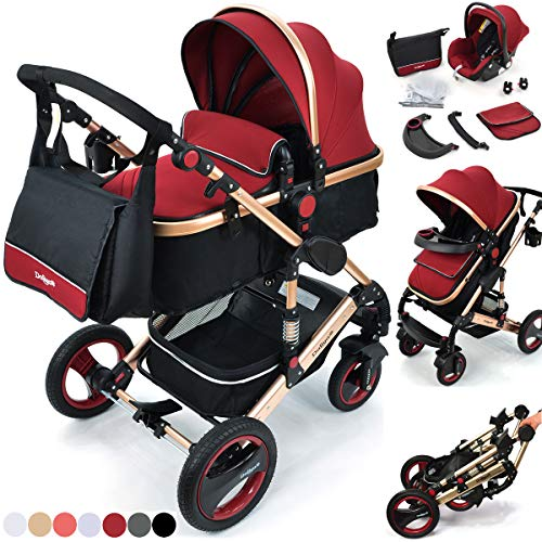 kinderwagen travelsystem 3 in 1