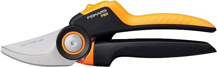 Fiskars Bypass-snoeischaar M, X-Series PowerGear, P921, met roterende handgreep, voor jonge takken en twijgen, antikleefla...