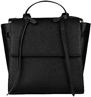 TOOGOO Women's Shoulder Bag Big Women Leather Handbags Stylish Crossbody Bags for Women Black