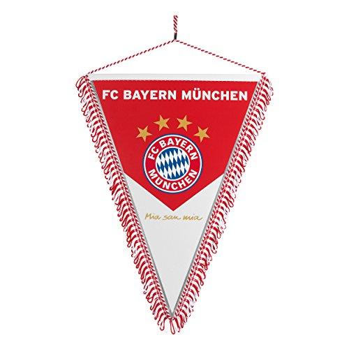 Wimpel FC Bayern München + gratis Sticker München forever, Munich -bandera / bannière / pennant