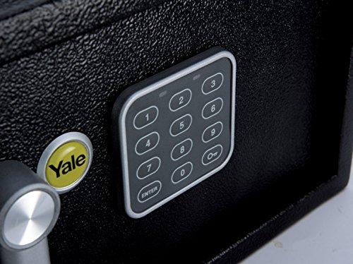 Yale YSV/200/DB1 Caja Fuerte Básica Pequeña, 200 x 310 x 200 mm