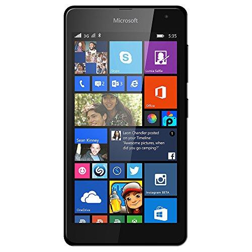 Amzer Pudding TPU-Schutzhülle für Microsoft Lumia 535, Schwarz