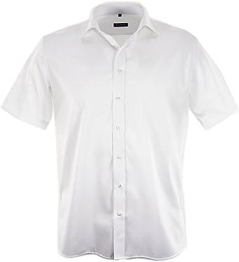 eterna - Camisa formal - para hombre, color blanco, talla XXL ...