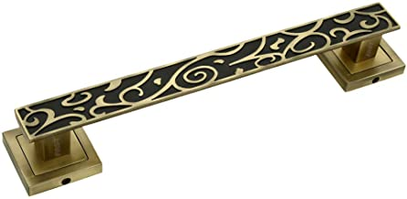 FAST Zinc Door Handle (12-inch, BRASS Colour)