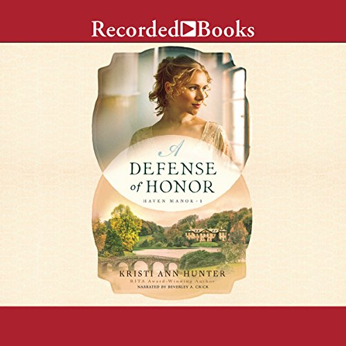 A Defense of Honor audiobook cover art