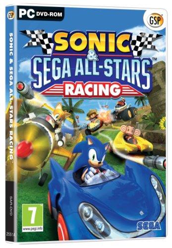 Sonic and SEGA All Stars Racing (PC DVD) [Importación inglesa]