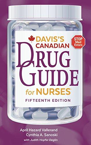 51Is1B7eDFL - Davis's Canadian Drug Guide for Nurses