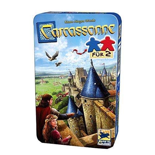 Hans im Glück 51420 M-BMM, Carcassonne, Für 2, blau