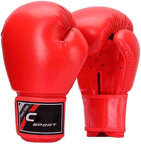 GUYUEXUAN Gants de boxe, compétition d'entraîneHommest for hommes et femmes Gants de boxe en matériau PU de haute qualité, rembourrage élastique, agréable à utiliser, flexible et indéformable Le meilleur