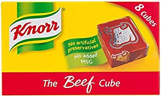 Knorr Beef Stock Cubes - 8 x 10g
