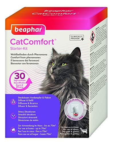 Beaphar Chats Catcomfort Diffuseur et de Recharge, 48 ML