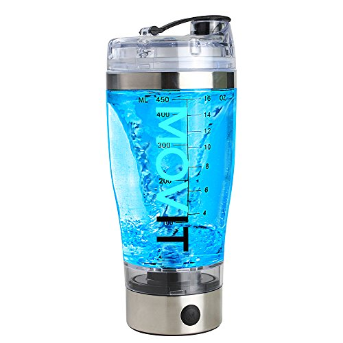 Movit Shaker Electrico USB - vaso mezclador proteinas