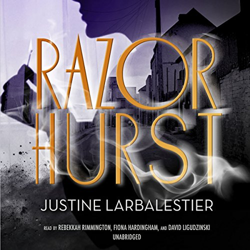 Razorhurst audiobook cover art