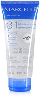 Marcelle 3-in-1 Micellar Gel Eye Makeup Remover, Hypoallergenic and Fragrance-Free, 3.3 fl oz