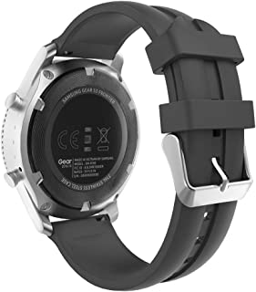 MoKo Band compatible with Samsung Galaxy Watch 3 45mm/Watch 46mm/Gear S3 Frontier/Classic/Huawei Watch GT2 Pro/GT 2e/GT 46...
