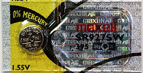 Maxell MB618321 - Batteria per orologio 1,55 V 395 (5 pezzi per confezione)