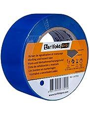 Tarifold 1 Cinta Adhesiva Suelo, Señalización, Seguridad, color Azul-Rollo 50mm x 33m, 50 mm x 33 M