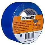 Tarifold 1 Cinta Adhesiva Suelo, Señalización, Seguridad, color Azul-Rollo 50mm x 33m,...