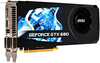 MSI NVIDIA GeForce GTX 680 2 GB gddr5 2dvi / HDMI / DisplayPort PCI - Expressビデオカード( n680gtx-pm2d2gd5 )