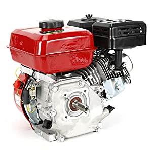 Motor de gasolina, motor de kart industrial de 4 tiempos, 1 cilindro, 3600 rpm.