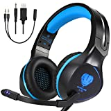 BUTFULAKE Xbox One Headset, Gaming Headset for Xbox One, Xbox One S, PS4, PC,...