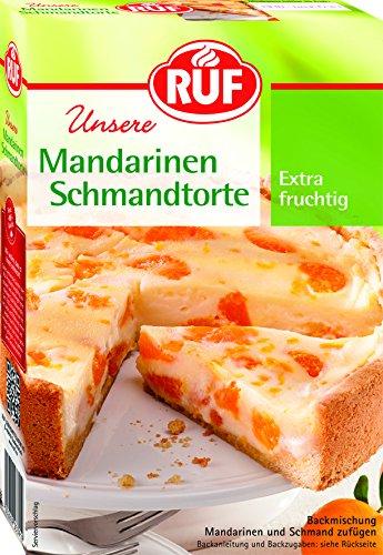 RUF Mandarinen- Schmand Torte, 8er Pack (8 x 460 g)