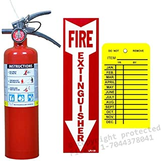 type of fire extinguisher for boat