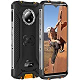 Oukitel WP8 PRO Rugged Smartphone in Offerta,Dual 4G Outdoor Smartphone Robusto,IP68 Impermeabile Antiurto Telefonia Cellulare,6.49inch HD+,Batteria 5000mah,4GB+64GB,Camera 16MP,NFC Android 10,Arancia
