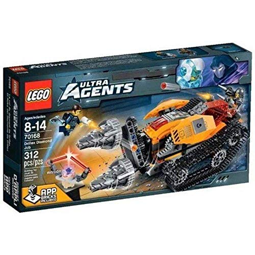 LEGO 70168 - Ultra Agents - Drillex Diamanten Diebstahl