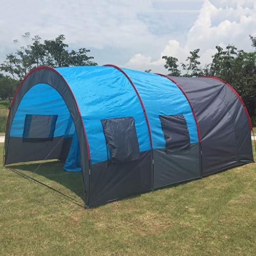 Camping Tents, Outdoor Multi-Person Team Tunnel Tent,Tents Suitable for Outdoor Leisure, Team Development, Outdoor Camping, Family Spring Trips, Outdoor Fishing