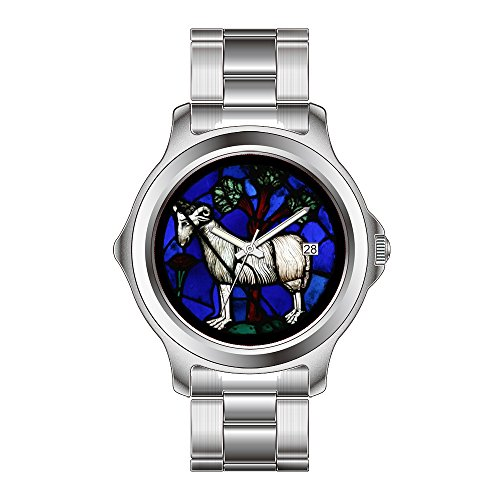 FDC Kerstmis Gift Horloges Vrouwen Mode Japanse Quartz Datum RVS Armband Horloge Ram Ram Glas Ramen Notre-Dame Horloges