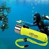 Malloom® Submarino 1200LM del CREE XM-L T6 LED de la linterna del salto luz de la lámpara de la antorcha impermeable