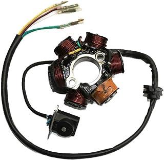 GOOFIT 6-Coil Magneto estator del generador de ignición para GY6 50cc 70cc 90cc 110cc 125cc ciclomotor ATV Dirt Bike