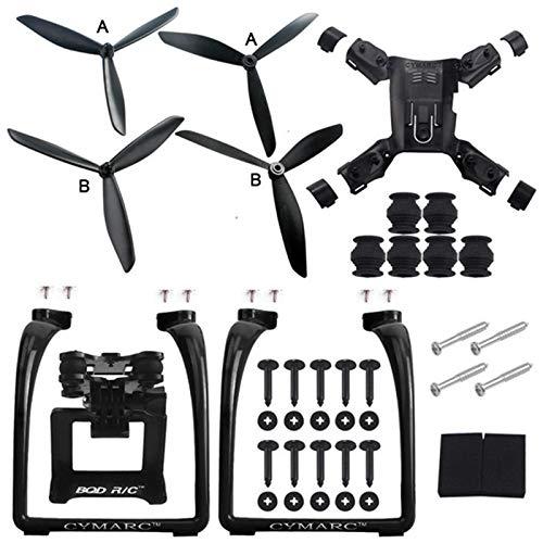 Etbotu Accessori Drone,Hubsan H501S X4 Air H501A Gambe Carrello di atterraggio Supporto per Camera cardanica Supporto elica Quadcopter Ricambi