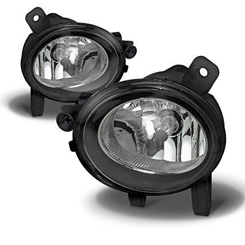 JOM Phare antibrouillard Set – 83022 – Brouillard Sche inwerf avec Ampoule H8, Verre Transparent de Rechange pour BMW F20/F21/F30/F31/F34/GT/F35/F32