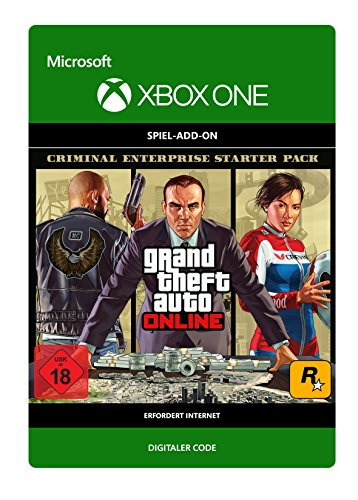 Grand Theft Auto V: Criminal Enterprise Starter Pack DLC | Xbox One - Download Code