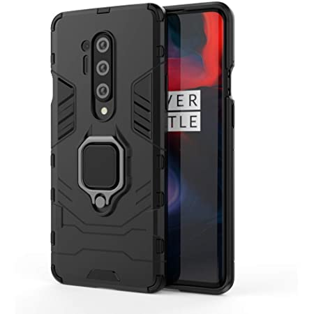 CEDO Back Cover For OnePlus 8 Pro ( TPU; Poly Carbonate Black )