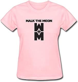 Seico Women Walk The Moon Logo T-shirts
